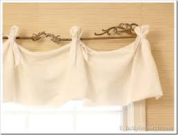 White Valance No Sew Window Valance In My Own Style