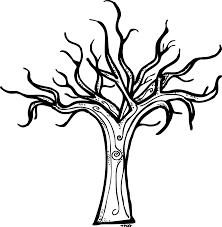 spooky tree clipart 2203620