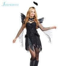 Angel Halloween Costumes Compare Prices Black Angel Halloween Costume Shopping