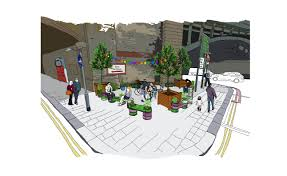 Home Zone Design Cardiff Testing Designs In The Community With The Street Kit Sustrans