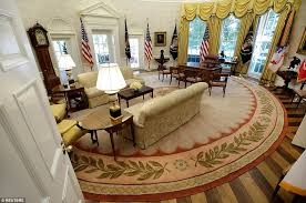 trumps gold house first photos of trump s oval office renovations just came out and