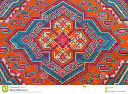 ornament of central asian carpet stock photo image 34251476