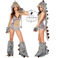 dinosaur costume women ladies fancy dress party role play for