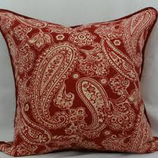 paisley throw pillows pillow perfect brownbeige damask 18inch