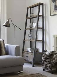 Leaning Bookcases Outdoor Ladder Shelf Amiphi Info
