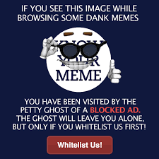 I Know Your Meme - knowyourmeme s adblock pop up know your meme