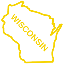 Wiscons by Outline Of Wisconsin State Clip Art Library