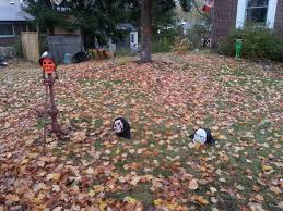 Frugal Home Decorating Ideas by Outdoor Halloween Decorations For Kids Decorating And Design Life
