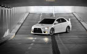 White Mitsubishi Lancer Wallpapers Gzsihai Com