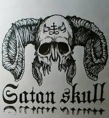 design satan skull by rosatoivanen on deviantart