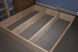 King Platform Bed Frame Plans by Diy King Platform Bed Started King Size Bed Frame Plans Platform