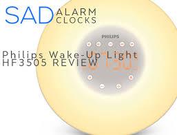 wake up light philips philips wake up light hf3505 sad alarm clock shop