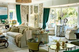 Green Curtains For Living Room by Shades Of Green For The Modern Home Taupe Back To And Sofas