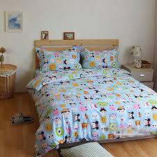 Kids Bedding Set For Boys by Lelva Cartoon Animal Bedding Set Kids Bedding For Girls And Boys