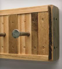 4 hook reclaimed wood key holder home decor u0026 lighting six