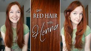 dying red hair light brown how to dye your hair red with henna youtube