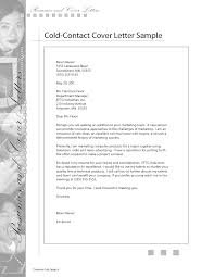 Sample Of Resume Cover Letter Format by Cold Cover Letter Example