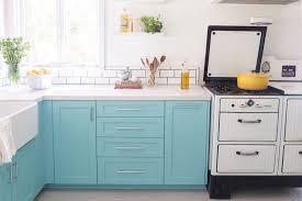 Blue Kitchen Sink Beautiful Blue Kitchen Cabinet Ideas