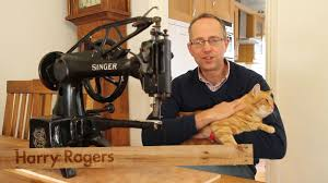 singer patcher 29k leather sewing machine youtube