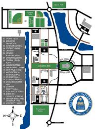 Usa Campus Map by Campus Map Ave Maria University