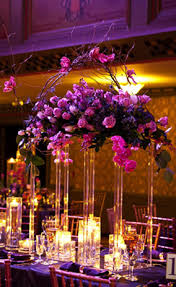 Purple Centerpieces Purple Wedding Table Decor Architecture U0026 Interior Design