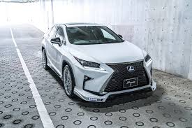 lexus rx200t cost lexus rx f sport with rowen body kit has quad exhaust autoevolution