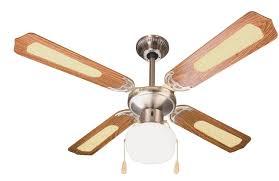 pale soffitto con luce ventilatore da soffitto 4 pale 纔 105 cm marrone con rattan luce e