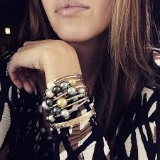pearl bangle bracelet images Tahitian pearl bangles misha lam jewelry jpg