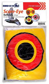 amazon com bird x scare eye bird repellent predator eyes