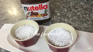 how to easy nutella lava cake nutella series episode 3 youtube