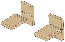 Different Wood Joints Pdf by Dado Woodworking Joints