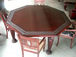 Function Detail In The Octagon Dining Table  Home Decorations - Octagon kitchen table
