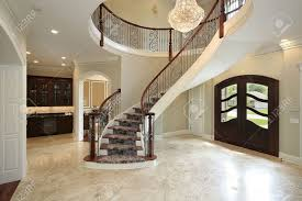 curved staircase railing 7814
