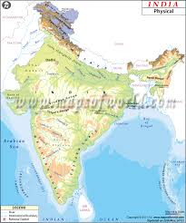 world map mountains rivers deserts physical map of india india physical map