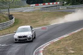 2018 bmw m5 prototypes continue testing at nurburgring video