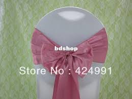pink chair sashes hot sale dusty pink satin chair sash for weddings events amp