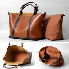 Handmade Leather Tote Bag - s handmade leather handbag purse shoulder bag