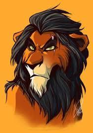 personagens disney em retratos lions disney villains disney