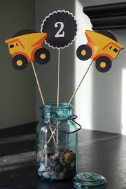 Construction Themed Centerpieces by 116 Best Dalton Construction Bday Images On Pinterest