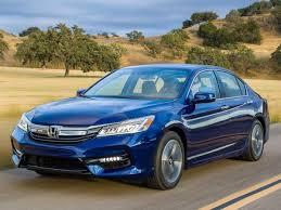 honda accord trade in value 2017 honda accord hybrid promises 48 mpg combined kelley blue book