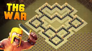 coc map layout th6 clash of clans best th6 war base new town hall 6 defense base