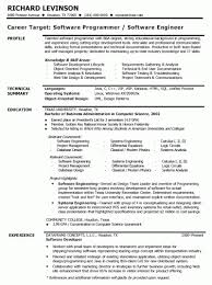 systems engineering resume software engineer resume pdf resume sample software engineer
