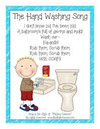 printable poster for hand washing the hand washing song classroom poster it s free file folder