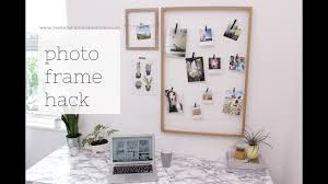 picture frame hack and the scandinavian home book review youtube