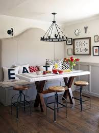 eat in kitchen affordable eat in kitchen makeover how to easily