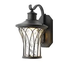 home decorators collection lighting home decorators collection black medium outdoor led dusk to dawn