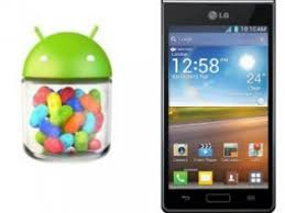 android jelly bean lg optimus l7 users get android 4 1 2 update techtree