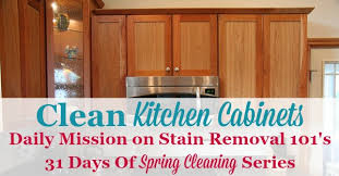 how to clean kitchen cabinets with stains clean kitchen cabinets with these tips and hints