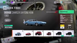 Muscle Car Barn Finds Forza Horizon 3 Barn Finds Guide Shacknews