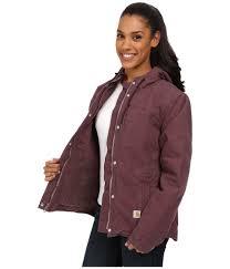 carhartt sandstone berkley jacket in purple lyst